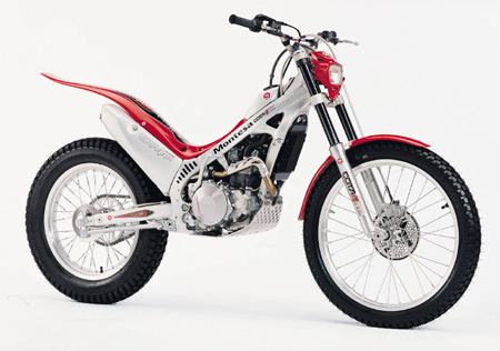 You are browsing images from the article: Gallery of modern trials bike images